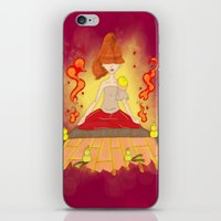 meditation iPhone & iPod Skins featuring Meditation by KeijKidz