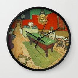 Van Gogh - The Night Café Wall Clock