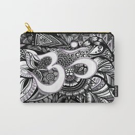 Zentangle Ohm Carry-All Pouch