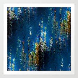 Floral Underwater Art Print