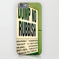 Rubbish iPhone 6s Slim Case