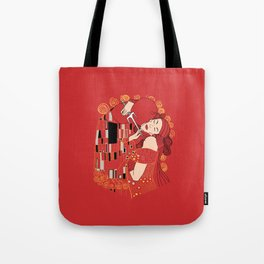 Kiss of the Devil Tote Bag