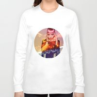 grimes Long Sleeve T-shirts featuring GRIMES by OmaPRINTS
