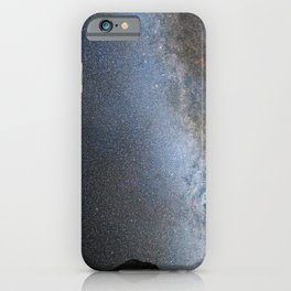 Hubble Space Telescope - Nighttime Sky View of Future Galaxy Merger: Present Day iPhone Case