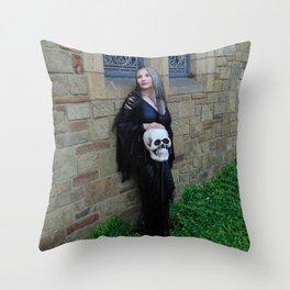 Skull Works Throw Pillow