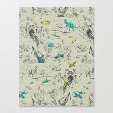 Adventure Toile  Canvas Print