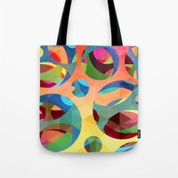 modern vampires of art history Tote Bags featuring modern art by mark ashkenazi