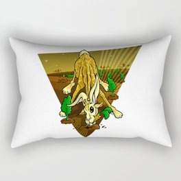Mutant Zoo - Girabbit Rectangular Pillow