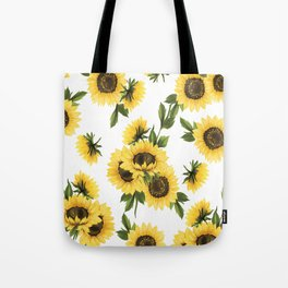 Lovely Sunflower Tote Bag