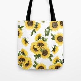 Lovely Sunflower Tote Bag