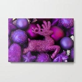 Sparkling Christmas Metal Print