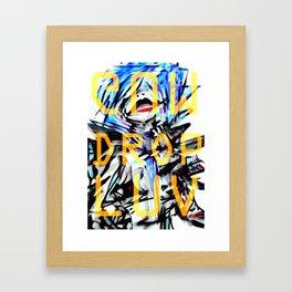 Gum Drop Luv+ Framed Art Print