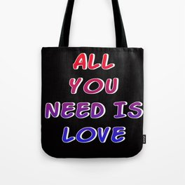 love is all Tote Bag