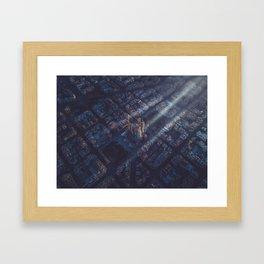 One last hope Framed Art Print