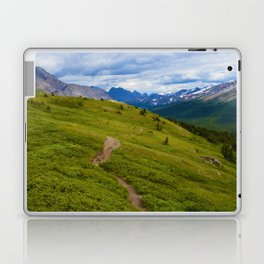 Views Along the Wilcox Pass Trail in Jasper National Park, Canada Laptop & iPad Skin
