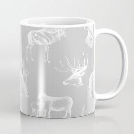 Woodland Critters in Grey Coffee Mug