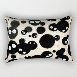 Cute Susuwatari Infestation Rectangular Pillow