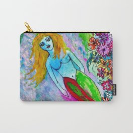 Mermaid Cotton Candy Sea Carry-All Pouch