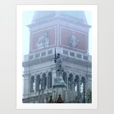 Justice on St Mark's Square Art Print