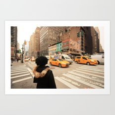 My NY diary Art Print