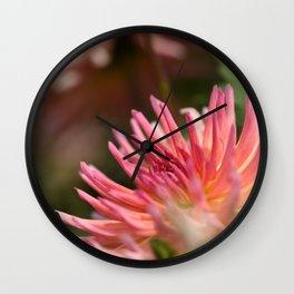Flowers London 2 Wall Clock