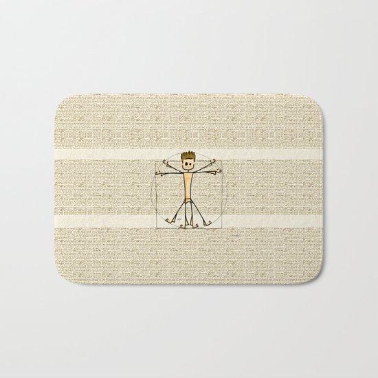 Vitruvius Bath Mat