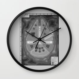 Popography: Kessel Crater Wall Clock