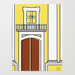 Iglesia La Pastora -Detail- Poster