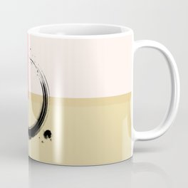Zen Art ENSO Circular Form Abstract Colored Coffee Mug