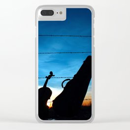 Sunset Sirenade Clear iPhone Case