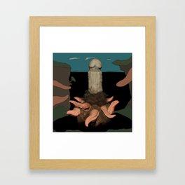 Hain Framed Art Print