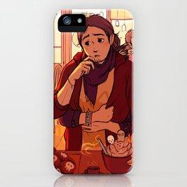 Kitty in Wonderland cookie set iPhone Case