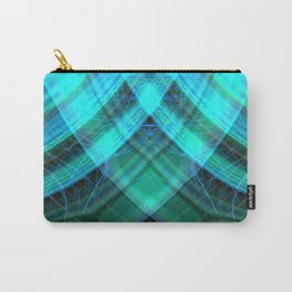 Aqua Sheen Carry-All Pouch
