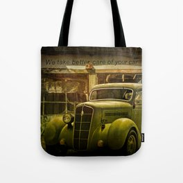 Service Station Automobile Car Care Tote Bag