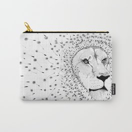 Lion Flower Carry-All Pouch