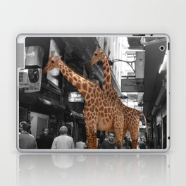 Safary in City. African Invasion. Laptop & iPad Skin
