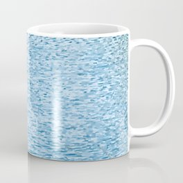 Lake Reflections With Splashes of Shaded Sunlight Abstract Coffee Mug