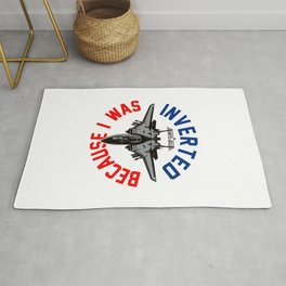 Because I Was Inverted Merch Rug