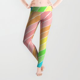 Rainbow Sherbert 1 Leggings
