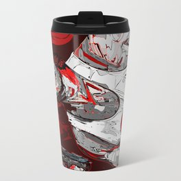 Its all in the reflexes Metal Travel Mug