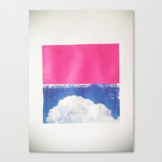 SKY/PNK Canvas Print
