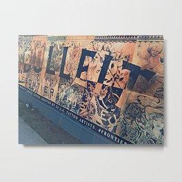 Tat Street Metal Print