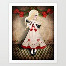 Clara and the Nutcracker Art Print
