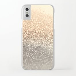 GOLD GOLD GOLD Clear iPhone Case