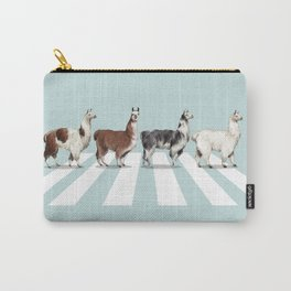 Llama The Abbey Road #1 Carry-All Pouch