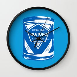 Condensed Milk (Sgushchennoye Moloko) Wall Clock