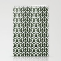 221b Stationery Cards featuring 221b Wallpaper by rogueleader