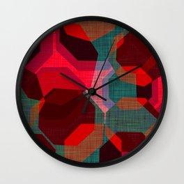 RETRO FESTIVE Wall Clock