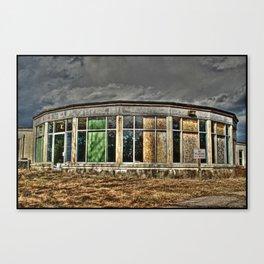 Abandoned Cape Cod Rehab Center Canvas Print