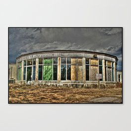 Abandoned Cape Cod Rehab Center Canvas Print